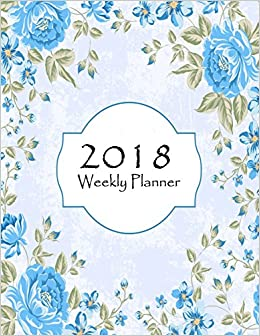 amazon 2018 weekly planner calendar and planner to schedule and