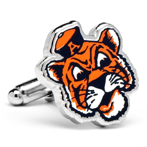 NCAA Vintage College Cufflinks - Auburn Tigers (PD-VAUB-SL) by NCAA