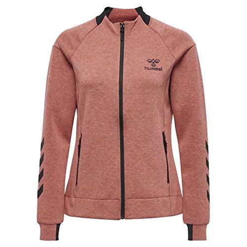 Melange Jacket Hmlclio Mineral Melange Red Hummel Zip Donna Xl Giacca SRqxgwT