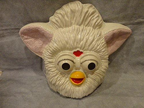 White Furby PVC Mask Kid Size Rubies Halloween Dress (Furby Costumes)
