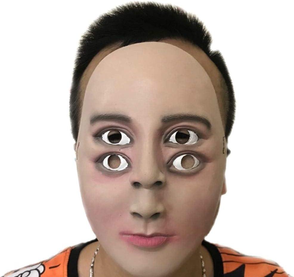 aloiness Mascarilla para Hombre Máscara para Disfraz Fantasma de ...