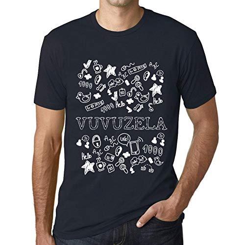 Men's Vintage Tee Shirt Graphic T Shirt Doodle Art Vuvuzela -