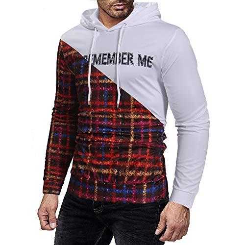 con impresas Hombre Rojo Sudaderas Aimee7 Manga Sudaderas larga Camisetas capucha Camisetas wT7x0TqZ4
