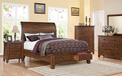 Modus Furniture Cally Storage Bedroom Set (Eastern King)