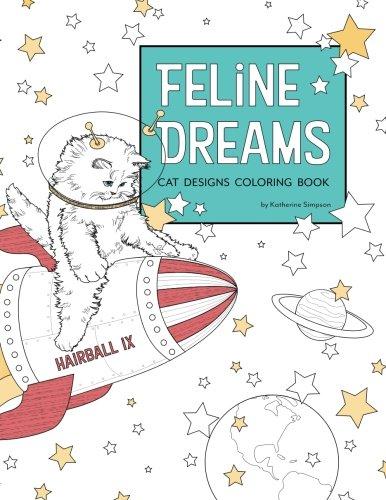 Download Feline Dreams Cat Designs Coloring Book ebook