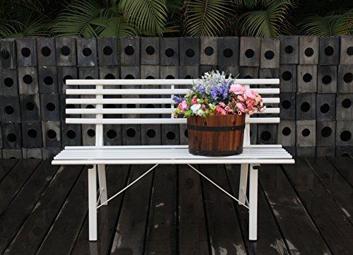 LYFESTYLE INNOVATIONS Garden Bench, White