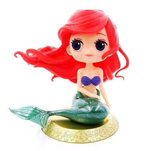 Astra Gourmet Cute Big Eyes Mermaid Doll Cake Toppers Mermaid Figurine Birthday Cake Decoration Wedding Party Supplies ()
