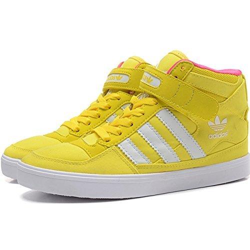 Adidas Forum UP W Zapatillas Deportivas Trainers Amarillo - Amarillo, Mujer, 41 1/3 EU: Amazon.es: Zapatos y complementos