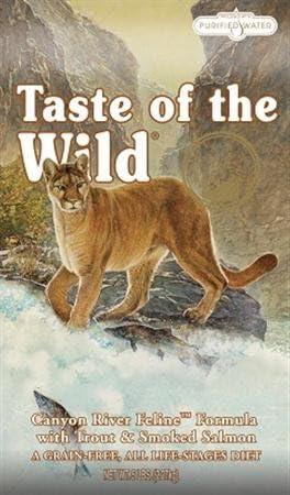 Taste of the Wild Pienso Canyon River Feline – 2,27 kg: Amazon.es ...