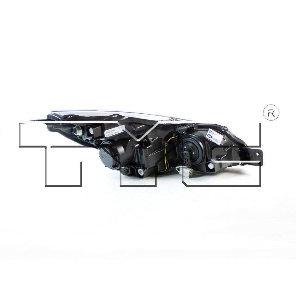 TYC 20-9115-00-1 Subaru Right Replacement Head Lamp