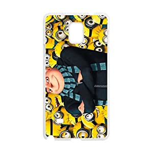 LINGH Minions Case Cover For samsung galaxy Note4 Case