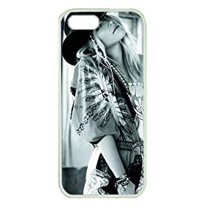Case For Iphone 4/4S Cover ,fashion durable White side design phone case, Hard shellmaterial phone cover ,with Romantics Yippie Gypsy Sun Dress girl.