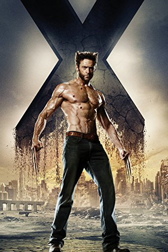 Fit You Marvel X-Men Days Of Future Past Logan Wolverine Movie Canvas Wall Poster (Days Of Future Past Wolverine)