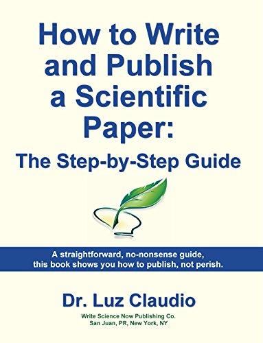 Write Publish Scientific Paper Step ebook product image