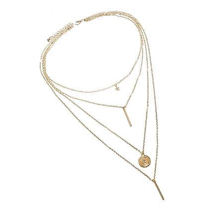 Amazon com: Molyveva Luxury Ladies Necklace, Personality New Beach