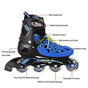 Inlineskating Inline Skates Rollerblade Erwachsene Größe 40