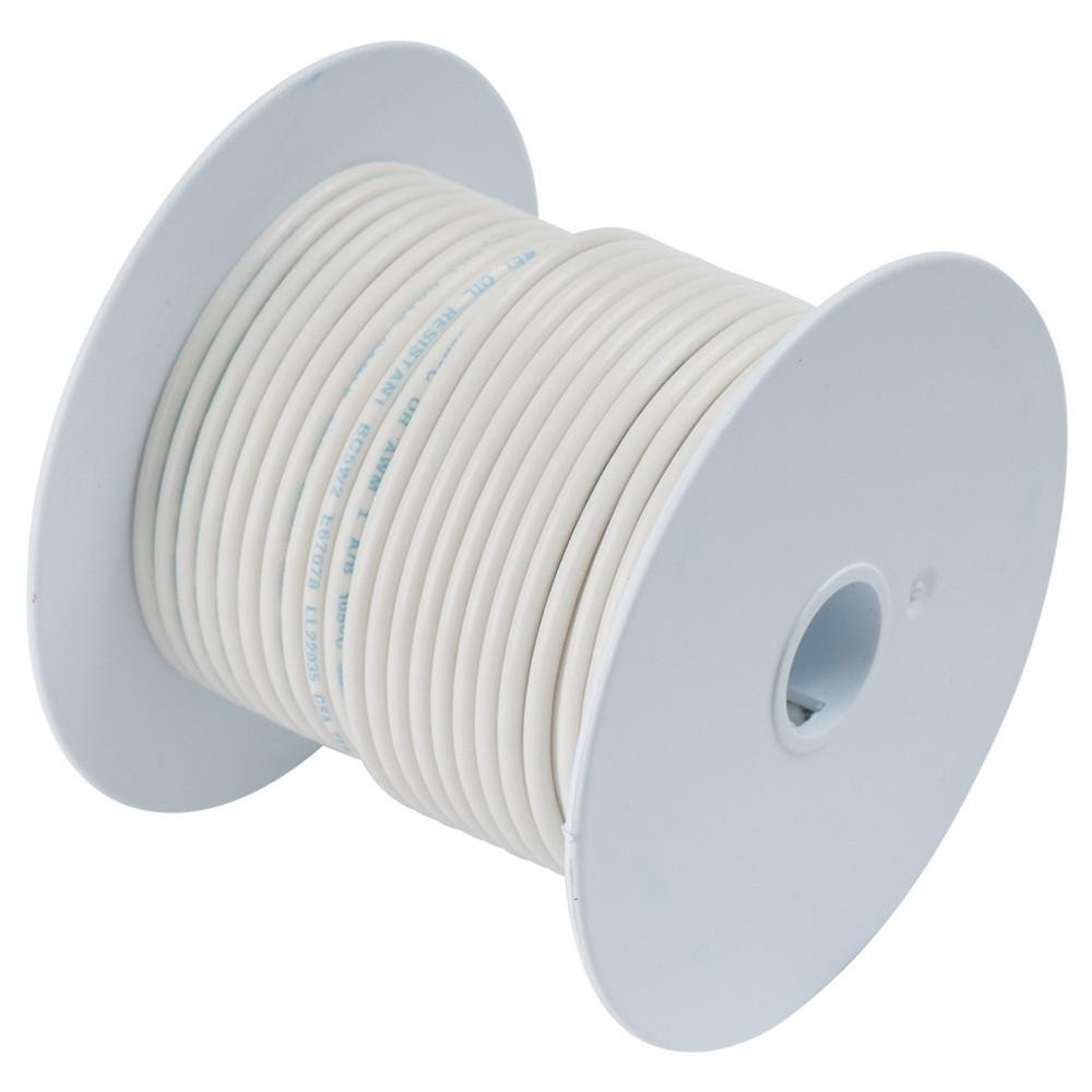ANCOR White 18 AWG Tinned Copper Wire - 1, 000\': Amazon.co.uk ...