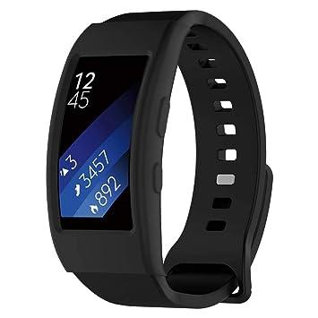 Ranuw Coque en Silicone Montre Housse de Protection pour Samsung Gear Fit 2 Pro Sm-