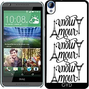 Funda para Htc Desire 820 - Amo París by wamdesign