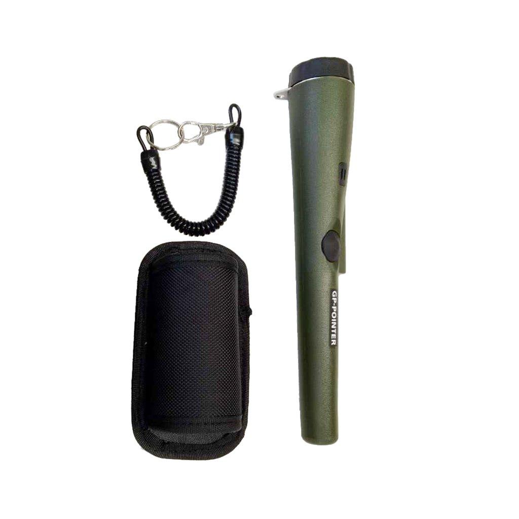 Verde kokiya Metal Detector GP-POINTER Pin Pointer Probe Impermeabile Pinpoint Portatile Con Fondina Caccia Al Tesoro Strumento Di Dissotaggio Accessori Buzzer Vib