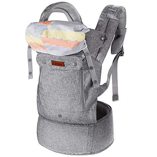 Lictin Baby Carrier Sling for Newborn - Baby Wrap Carriers Front and Back,...