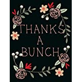 Thanks A Bunch - 36 Thank You Note Cards - Blank Cards - Gray Envelopes Included