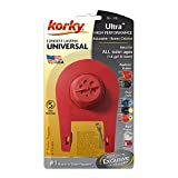 Korky 100BP Ultra High Performance Flapper Fits Most Toilets-Long Lasting Rubber-Easy to Install-Made in USA, Small, Red