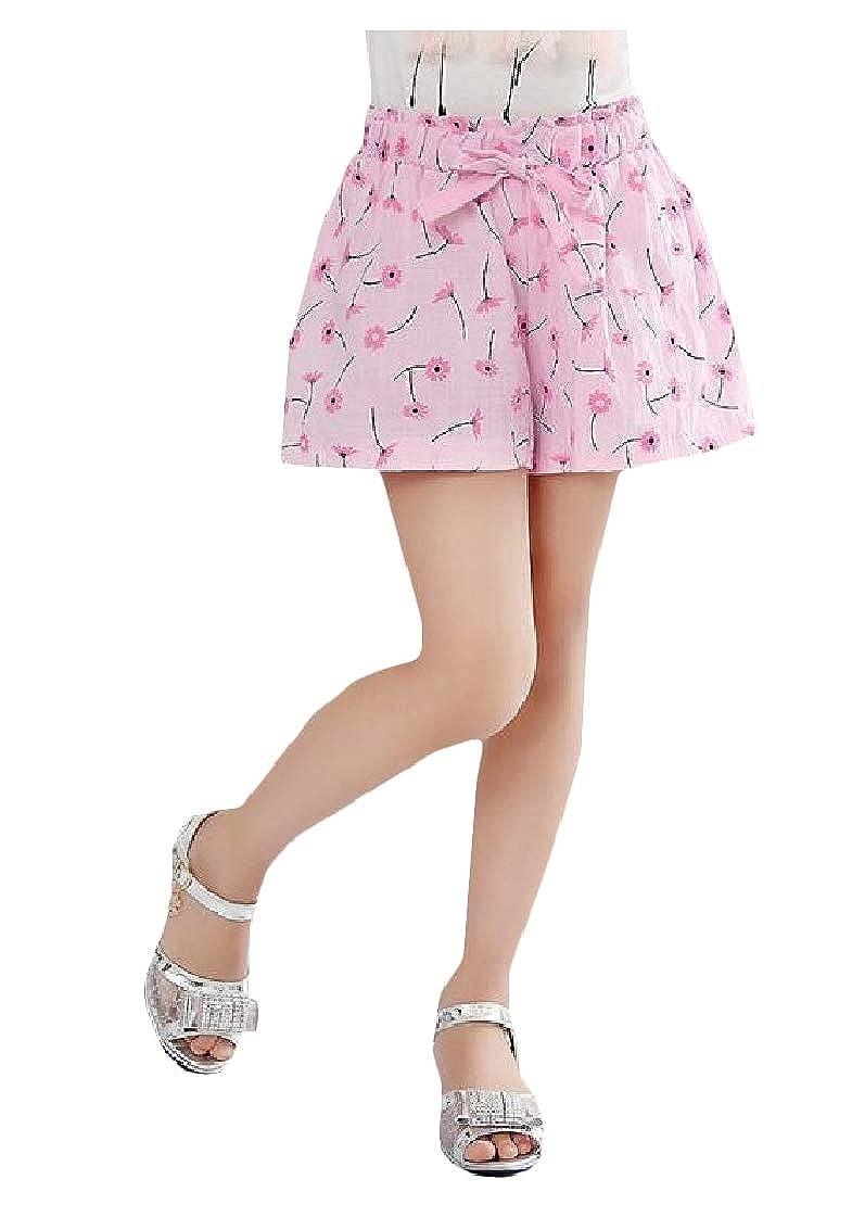 Sweatwater Girls All-Match Cotton Loose Beach Cute Printed Short