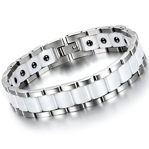 Flongo Stainless Healthy Magnetic Bracelet