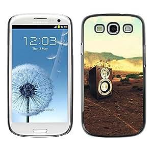 TopCaseStore / la caja del caucho duro de la cubierta de protección de la piel - Music Sound Dj Nature Bass - Samsung Galaxy S3 I9300