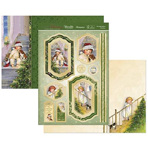 Hunkydory Cl/ásico Navidad Lujo Topper Collection CLASSIC18-101