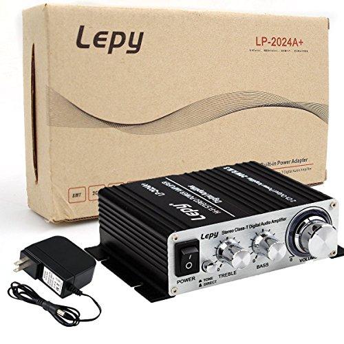Lepy LP-2024A-HA LP-2024A+ Hi-Fi Audio Stereo Power Amplifier Car Amplifier, 3A Power Supply by Lepy (Image #5)