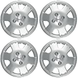 Hub-Caps for Select Toyota Echo (Pack of 4) 14 Inch Silver Wheel Covers