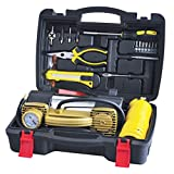 Useful Tire Repair Kits with Double Cylinder Electrical Air Compressor Pump (YS-388)