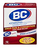 BC Sinus Pain & Congestion Powder | Pack of 3 | 12 Powders