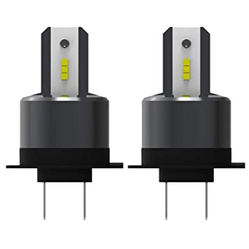 H7 LED Bombillas Coche Faro, Ford Focus Dedicado Luces 110W 26000LM Auto Luces Conversión Kits Reemplazar Para Halógeno O HID Bombillas, 2Pcs: Amazon.es: ...