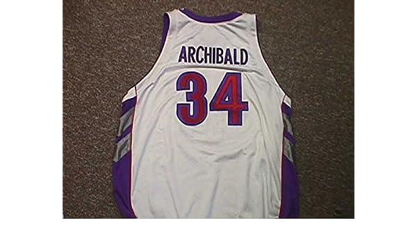 online store 3ef44 2022d Robert Archibald. Toronto Raptors 2000-2004 Home Nike Game ...