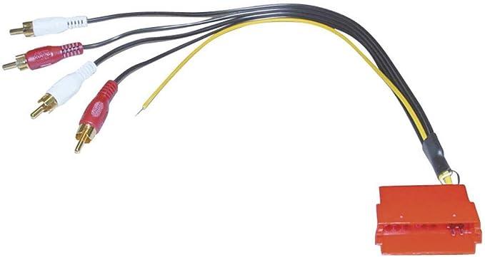 Line Out Adapter 4xcinch Auf Mini Iso Elektronik