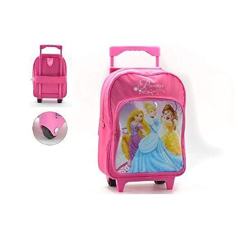check-out 4a28f 3dabd takestop® Zainetto Zaino Trolley Principesse Principessa Disney 25x40x20cm  Scuola Pranzo Asilo Materna per Bambini Bambine Bambina Bimba