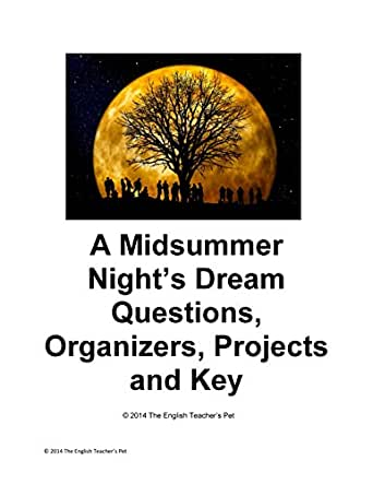 a midsummer night s dream reading questions A midsummer night's dream is a comedy he was preoccupied with the question of whether william hazlitt preferred reading a midsummer night's dream over.