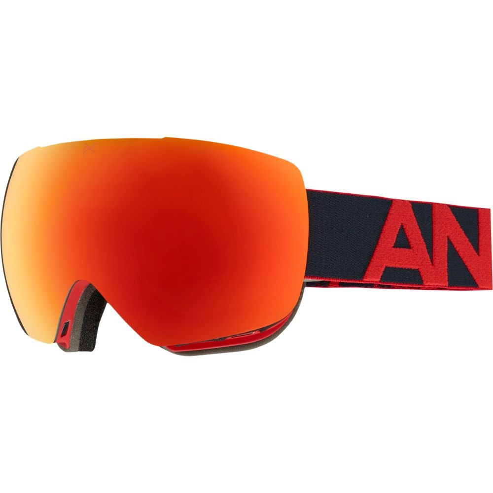 Amazon.com : Anon Mig Goggles, Black Frame, Red Solex Lens, One Size : Sports & Outdoors