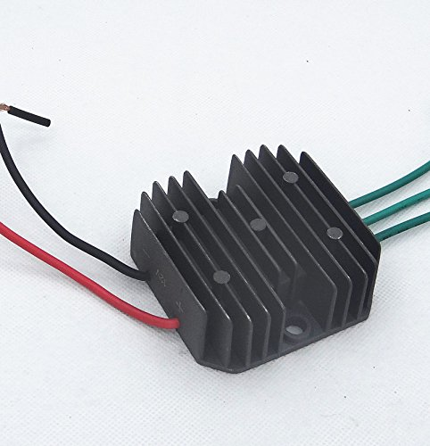 FI-parts HuoPu Wind Turbine Generator Charge Controller Wind Generator Rectifier Portable Wind Charge Controller (Three Phase) (12V 300W)