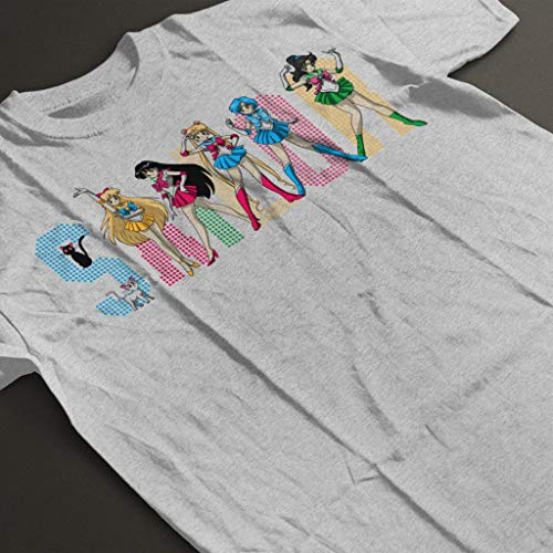 Cloud Girls Men's Heather City 7 Spice Moon shirt Sailor Grey T ZXXWrRzY