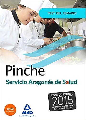 Pinche del Servicio Aragonés de Salud SALUD-Aragón . Test: Amazon.es: 7 EDITORES, JESUS Mª CALVO PRIETO, DOLORES MOLADA LOPEZ, PILAR LOPEZ SANCHEZ, ...