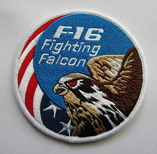 AIR Force Fighting Falcon F-16 Military Patch Fabric for sale  Delivered anywhere in USA