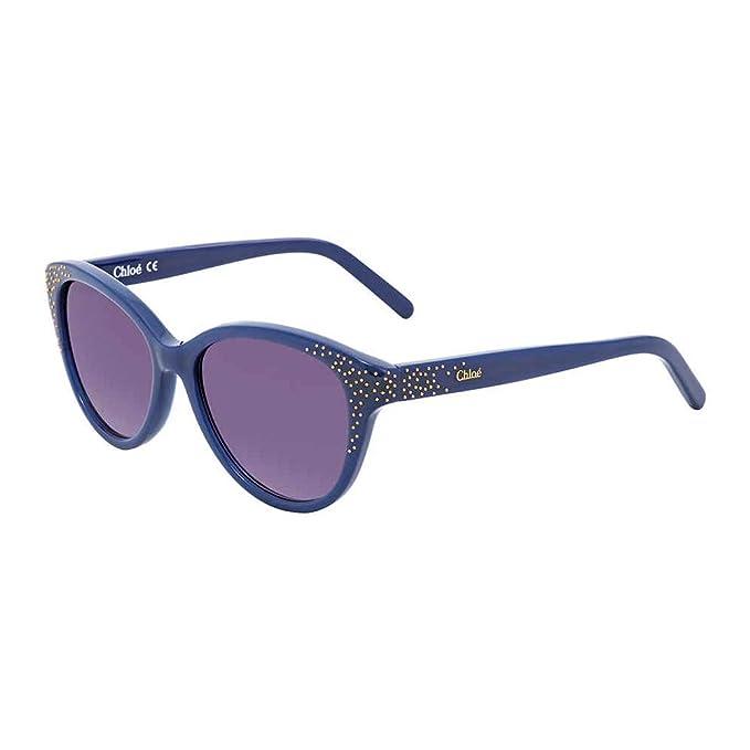 1d7e007aaf Chloe Suzanna Purple Gradient Cat Eye Sunglasses CE3605S 424 50  Amazon.ca   Clothing   Accessories
