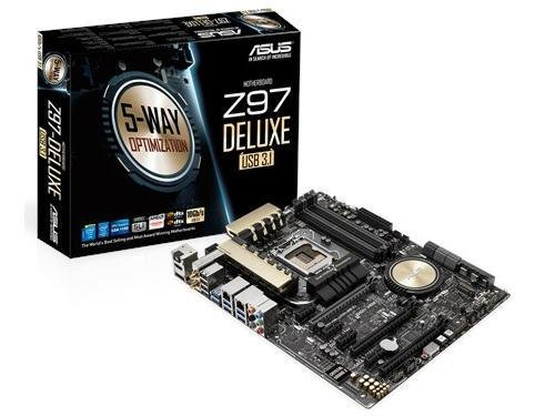 ASUS ATX DDR3 2600 LGA 1150 Motherboards Z97-DELUXE/USB 3.1