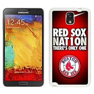 Beautiful And Unique Designed Case For Samsung Galaxy Note 3 N900A N900V N900P N900T With Boston Red Sox (2) Phone Case