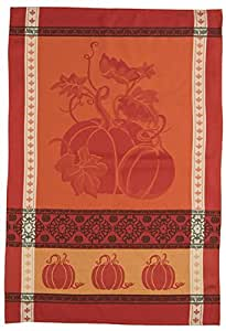 Kay dee designs h2539 fall harvest blessings jacquard tea towel home kitchen Kay dee designs kitchen towels