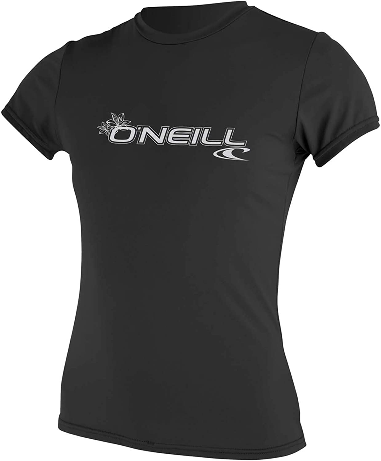 O'Neill Wetsuits WMS Basic Skins Short Sleeve Sun Shirt Chaleco Protector Mujer